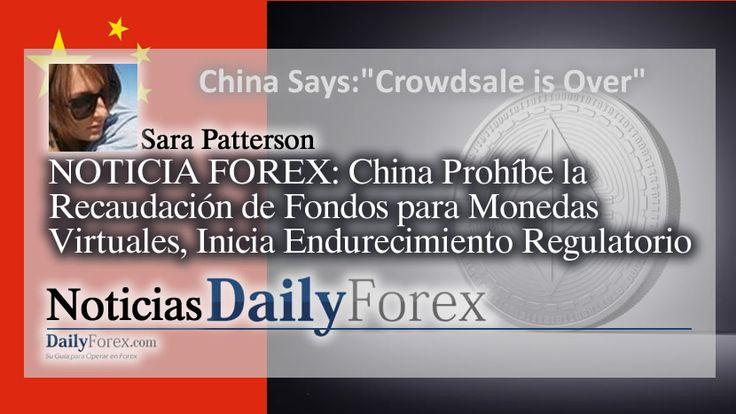 NOTICIA FOREX: China Prohíbe la Recaudación de Fondos para Monedas Virtuales, Inicia Endurecimiento Regulatorio https://espaciobit.com.ve/main/2017/09/05/noticia-forex-china-prohibe-la-recaudacion-fondos-monedas-virtuales-inicia-endurecimiento-regulatorio/ #Forex #DailyForex #China #ICOs #Crowdsale #Mercados #Petroleo