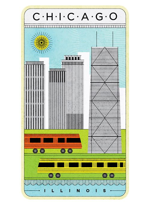 #chicago #vector