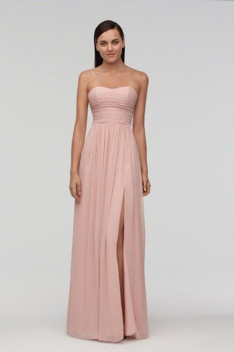 Watters 9540i Nancy Chiffon Bridesmaid Gown