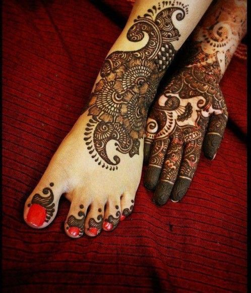 Mehndi Hairstyles Uk : The best latest arabic mehndi designs ideas on