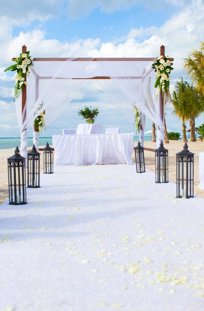 Wedding at The St. Regis Mauritius Resort