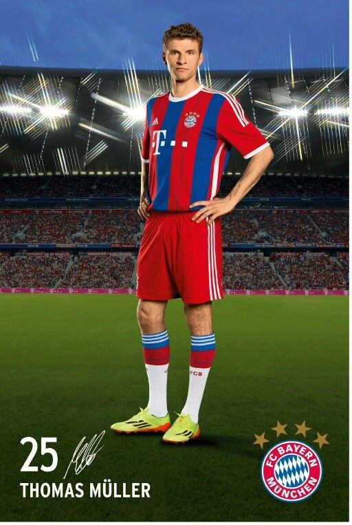 Thomas Müller, FC Bayern München. #FCB #MiaSanMia #Müller