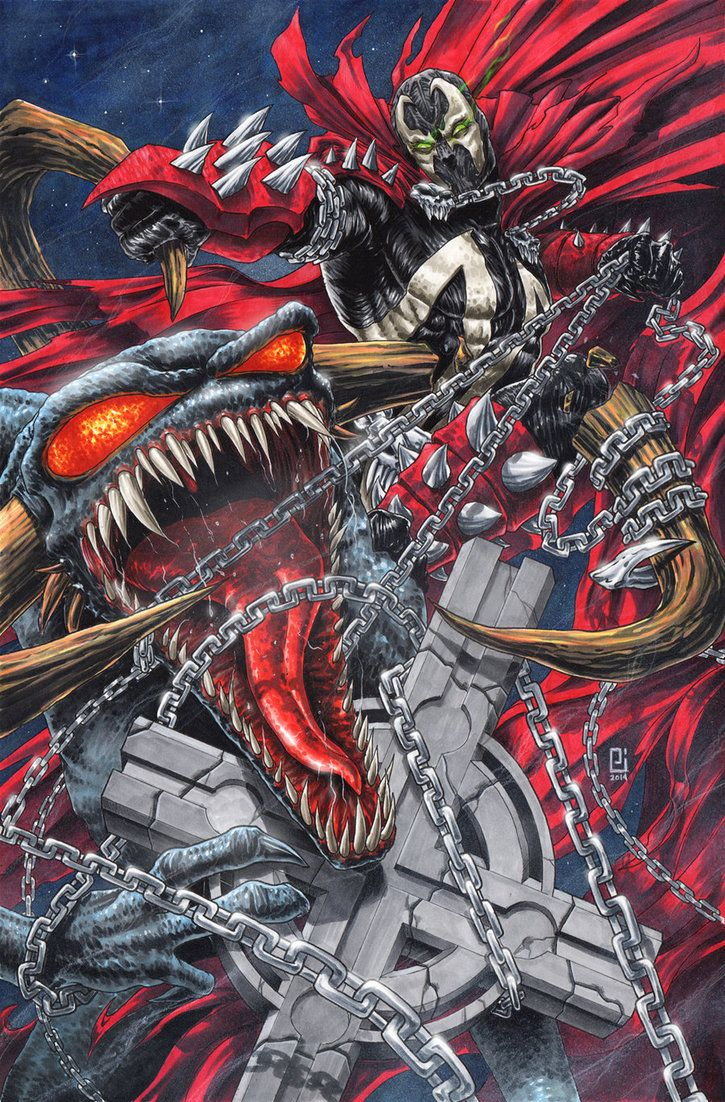 Spawn x Violator by PeeJay Catacutan on DeviantART
