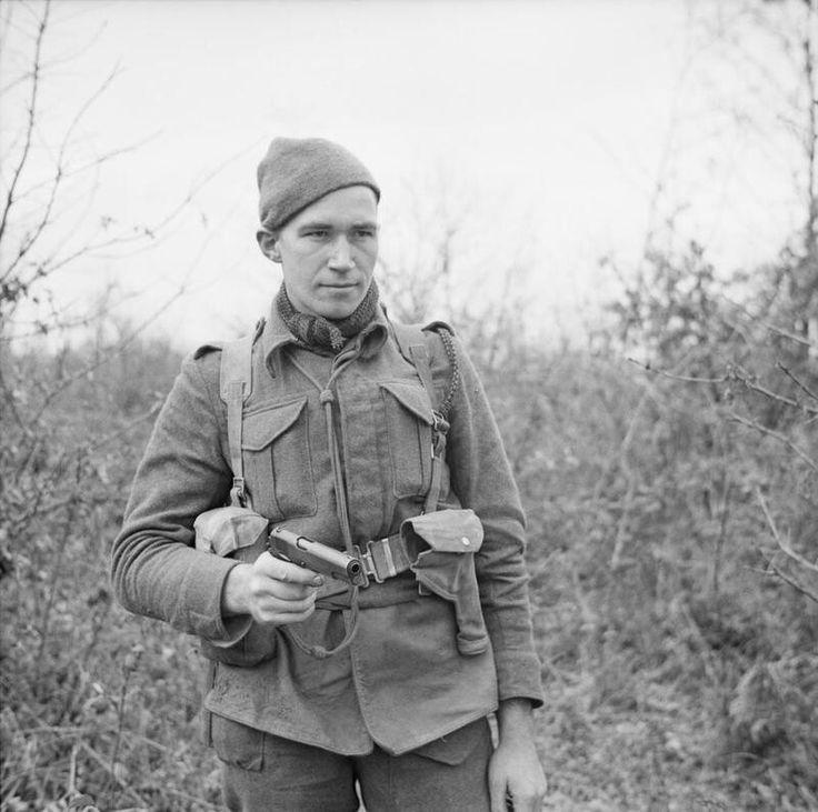 British commando at Anzio 5 march 1944, pin by Paolo Marzioli