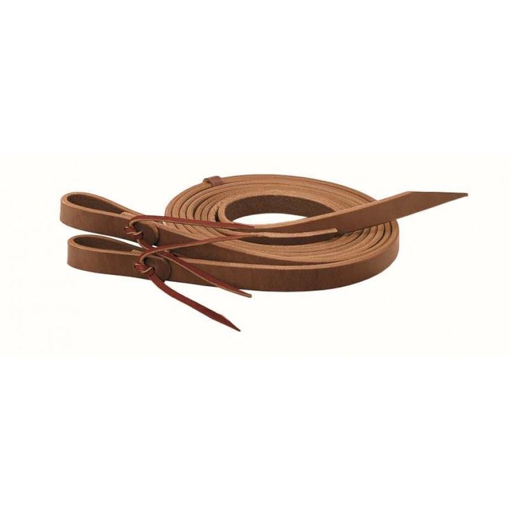 WEAVER HORIZONS SPLIT REINS Durable hard wearing 1/2 inch harness leather split reins. $72.95