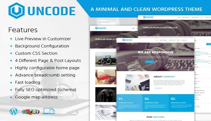 Uncode WordPress Nulled Theme V1.6.0 Download 100% Free | Best portfolio wordpress  themes, WordPress, Clean wordpress themes