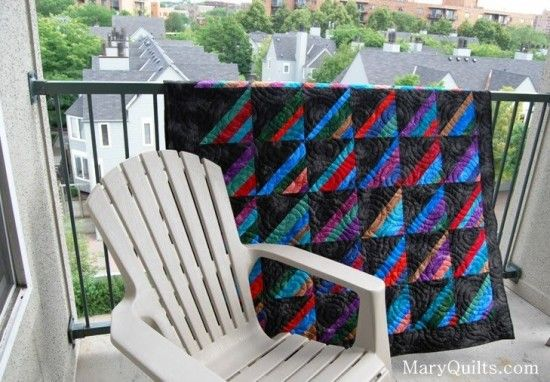 Amish Stripes and Strings by Mary Johnson from Mary Quilts