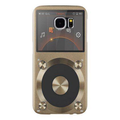 (digital audio player) Galaxy S6 Samsung Galaxy S6 Case - cool gift idea unique present special diy