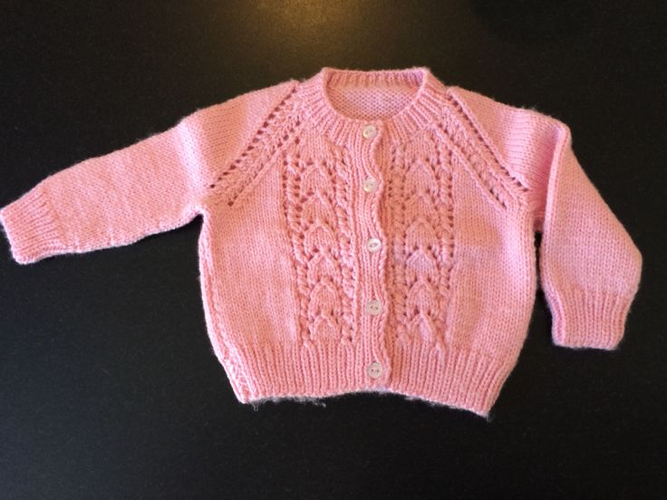 Baby cardigan Mum made