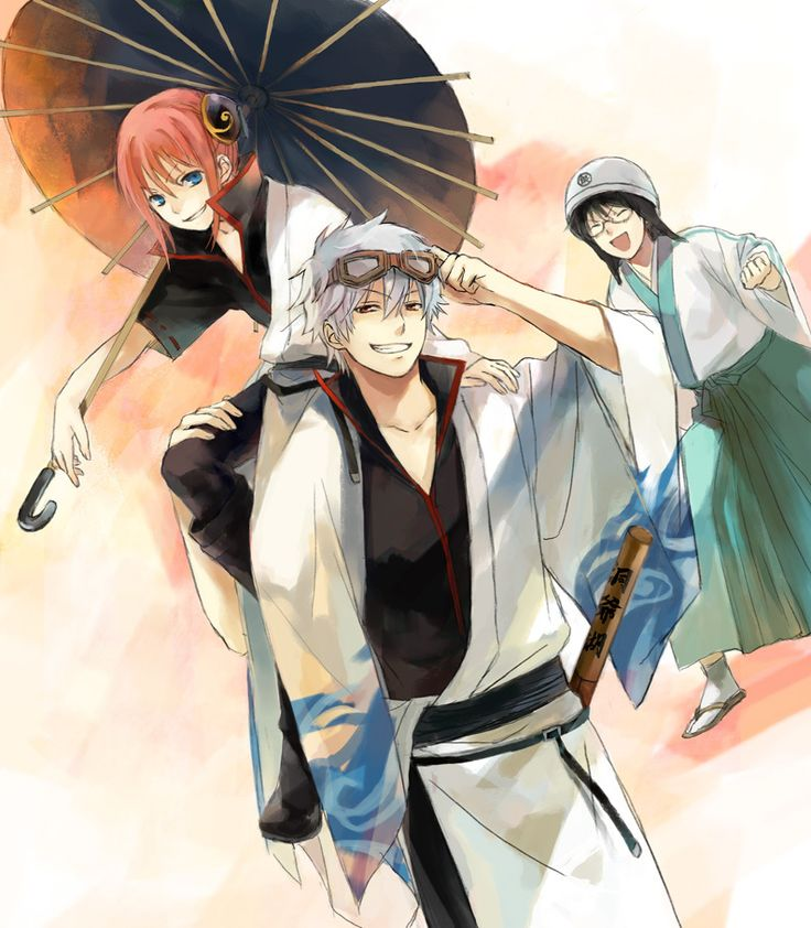 Gintama ~~ A trio of characters that shall live FOREVER!