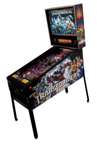 Stern Pinball Transformers Pro Arcade Pinball Machine by Stern Pinball, Inc.. $4999.99. Transformers Pro Pinball Machine from Stern Pinball brings Megatron, Optimus Prime and all your favorite Transformers into your home game room!  Exciting game play features include ''Megatron Vehicle Form'' rapid fire multi-ball with ''cyber'' ball lock and illuminated eyes as well as an ''Optimus Prime'' target with ''M.T.M.T.E.'' (more than meets the eye) elevating ramp!  ''Bumblebee Capt...