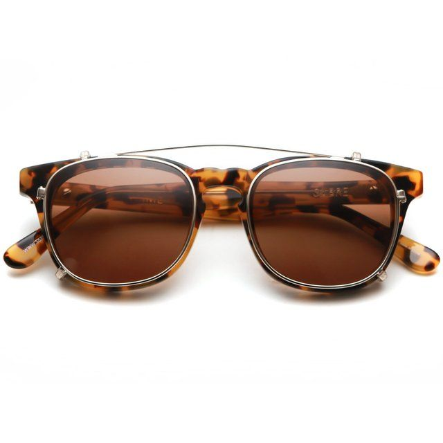 Showtime Sunglasses w/ Clip-On by Sabre