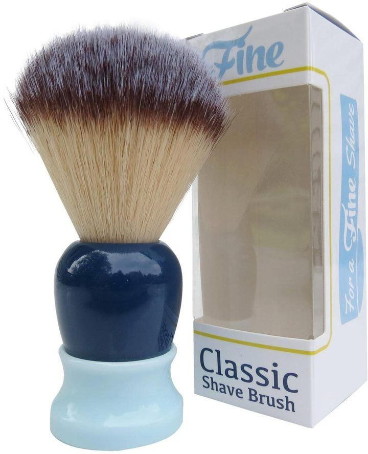 Blue Classic Shaving Brush by Fine Accoutrements (20mm Shave Brush)