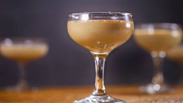 This cocktail also counts as dessert! Death by chocolate cocktail. Mmmm