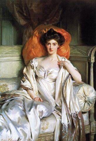 Mrs. Huth Jackson (Clara Annabel Caroline Grant Duff) - John Singer Sargent
