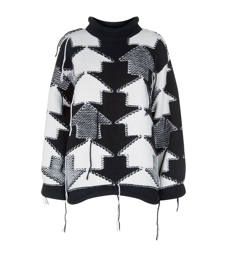 Stella McCartney Oversized Arrow Knit Sweater | Harrods.com