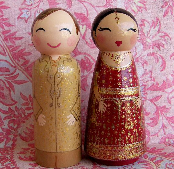 indian wedding cake dolls 157 best custom wedding cake toppers images on 16414