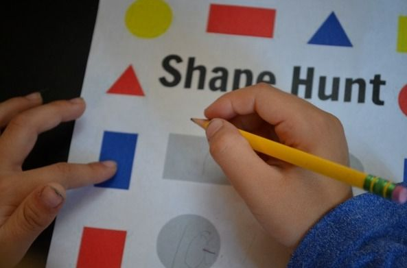 Shape Hunt – A Mathematics Lesson Plan on Describing 2D Shapes