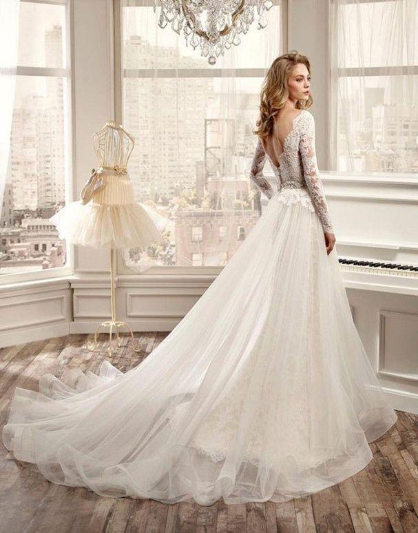 de Robes De Mariée En Dentelles sur Pinterest  Désherbage robes ...