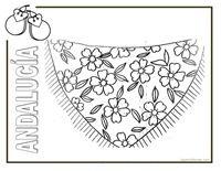 dia de andalucia infantil   dibujos para colorear de Andalucía. Colorear productos Andalucía.