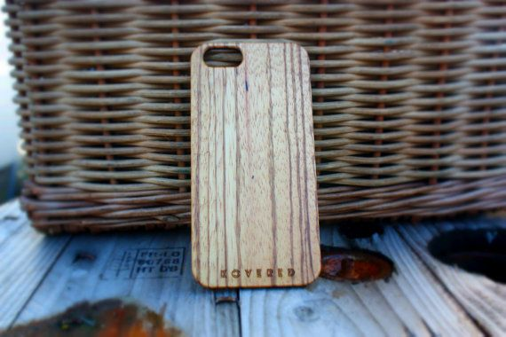 iPhone 5/5s Wood Case - iPhone 5s Wooden Case - Wooden iPhone 5 Case - Zebrawood iPhone 5 Case - Wood iPhone 5 Case - iPhone 5s Wooden Case