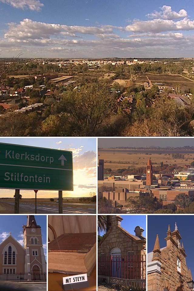 My birth town - Klerksdorp, Northwest Province, South Africa