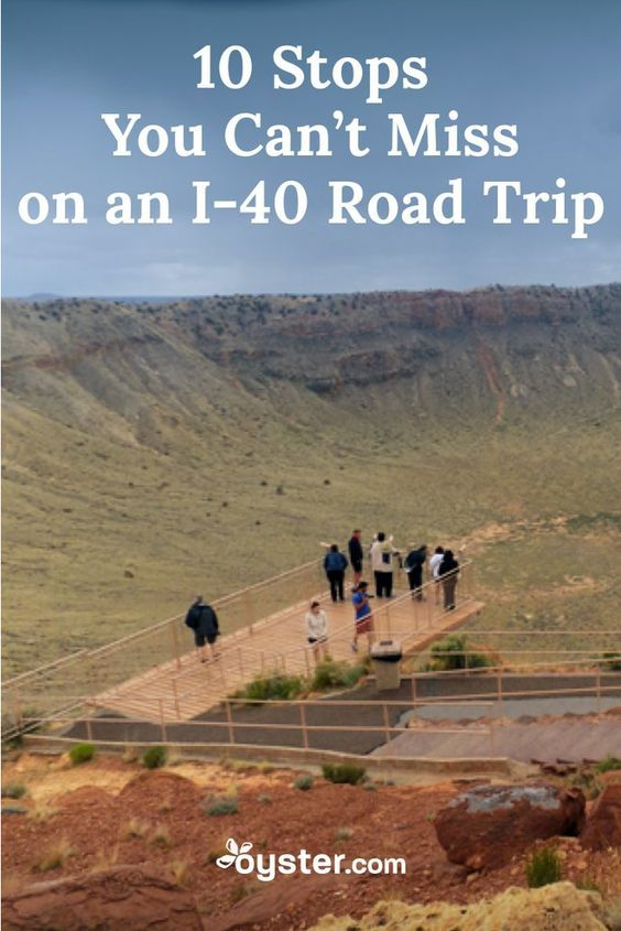 One of the coolest cross-country trips a traveler can take is along I-40. The third longest interstate in the United States. What a fun road trip!