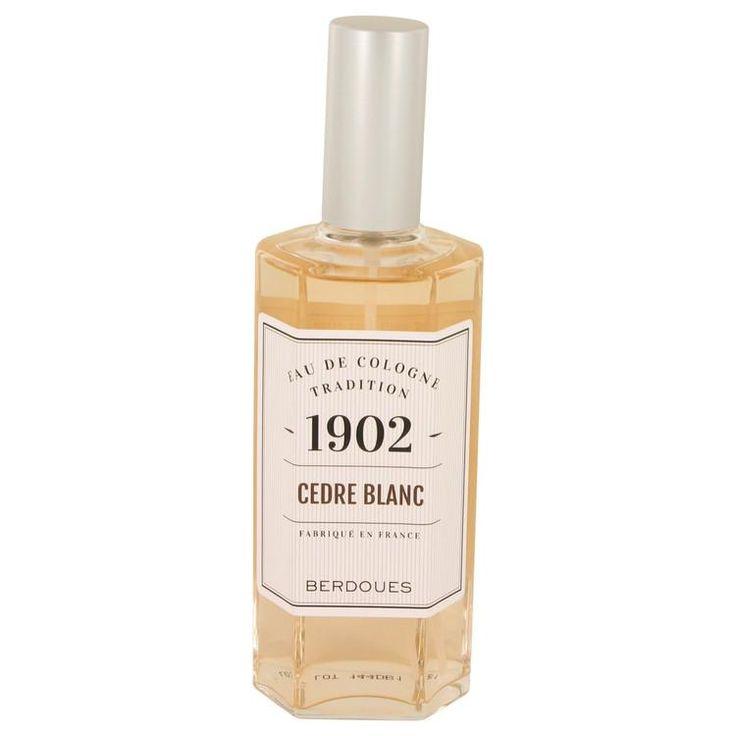 1902 Cedre Blanc Eau De Cologne Spray (unboxed) By Berdoues