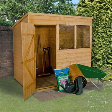 7x5 shiplap pent dip treated shed garden sheds from buyshedsdirect pinterest gardens wooden sheds and garden sheds