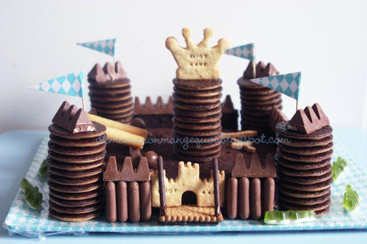 Un anniversaire de Super Chevalier Mousquetaire ou le parfait gâteau pour Super-Maman pas (tout à fait) parfaite !