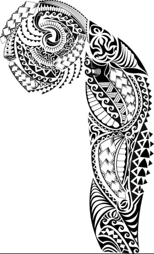 Men tattoo for arm and chest #polynesian #tattoo