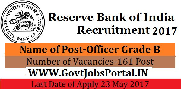 reserve bank of india recruitment for civil engineers