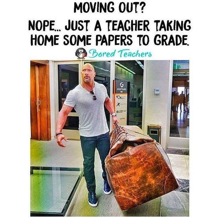 Teacher problems.