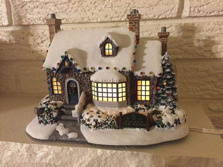 Hawthorne Village VILLAGE Tea Room MIB Kinkaid Christmas Collection 799751