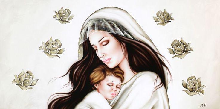 Antonella-Sportelli__Madonna-con-bambino-Maternita-Quadro-moderno-Antonella-Sportelli_g.jpg (800×396)