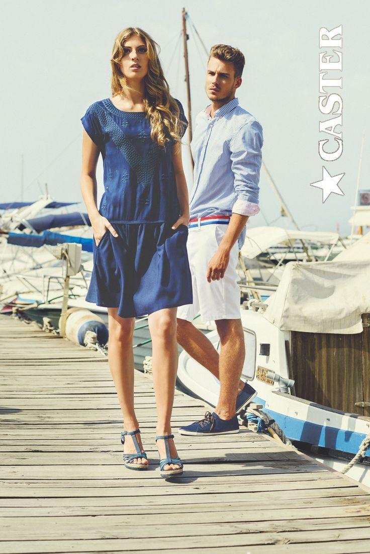 """Looks pertenencientes a """"Mediterránea"""" nuestra colección inspirada en el mar. Toda la gama de azules y el blanco son su base. Disfrútala."""