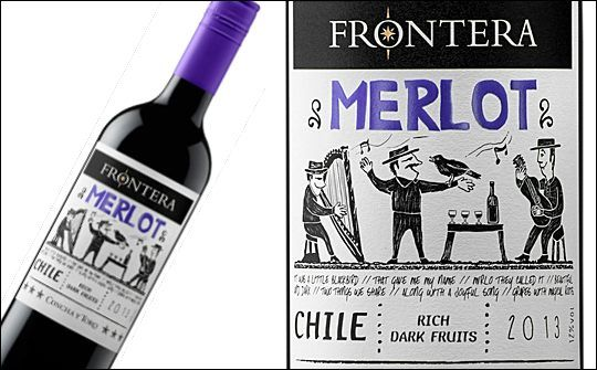 New Frontera labels reflect Chilean heritage