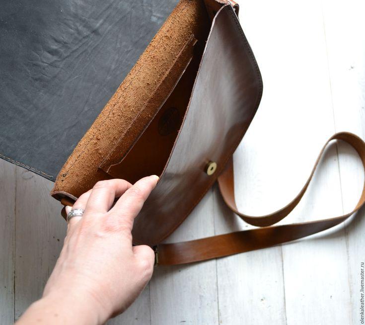 """Купить Сумочка """"В сумерках"""" - оранжевый, сумка ручной работы, сумочка через плечо"""
