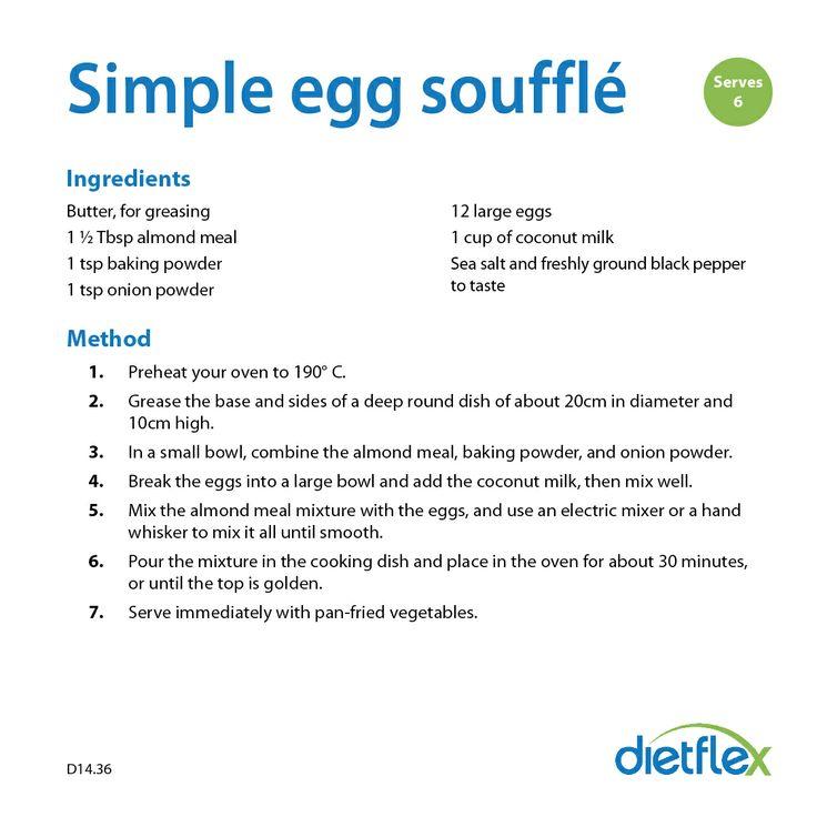 Simple Egg Souffle #HealthyRecipes #dietflex