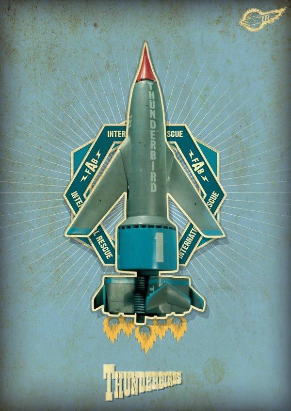 felix ip。蟻速畫行: Thunderbird Concept Posters