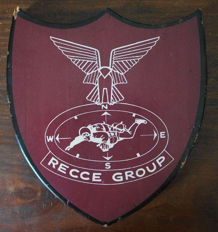 Rhodesian Selous Scouts Recce Group plaque