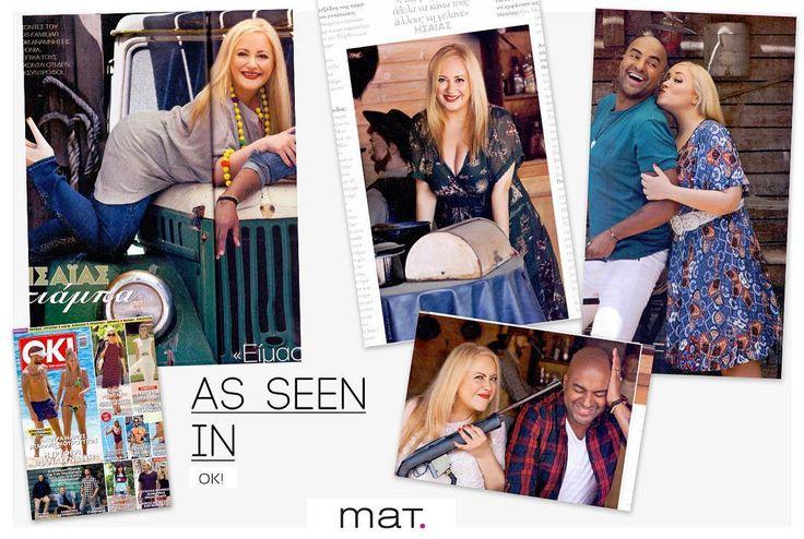 Στο @okmagazinegr που κυκλοφορεί - Η πρόσφατη φωτογράφιση με #matfashion ρούχα αλλά και συνέντευξη της @parthena_chorozidou_ θα συζητηθεί πολύ.... Ανακάλυψε τα #outfits στη σελίδα μας στο Facebook ➡️ www.facebook.com/matfashion #wears_mat #fashion #style #interview #okmagazinegreece #okmagazinegr #fashionista #instafashion