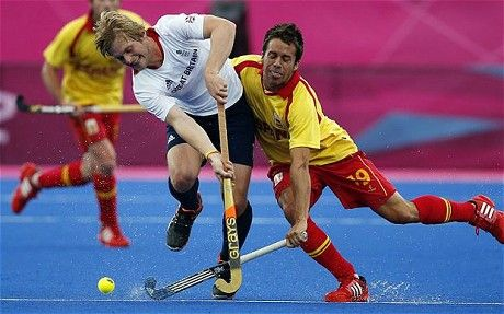 Ashley Jackson clattered by Spain during London 2012