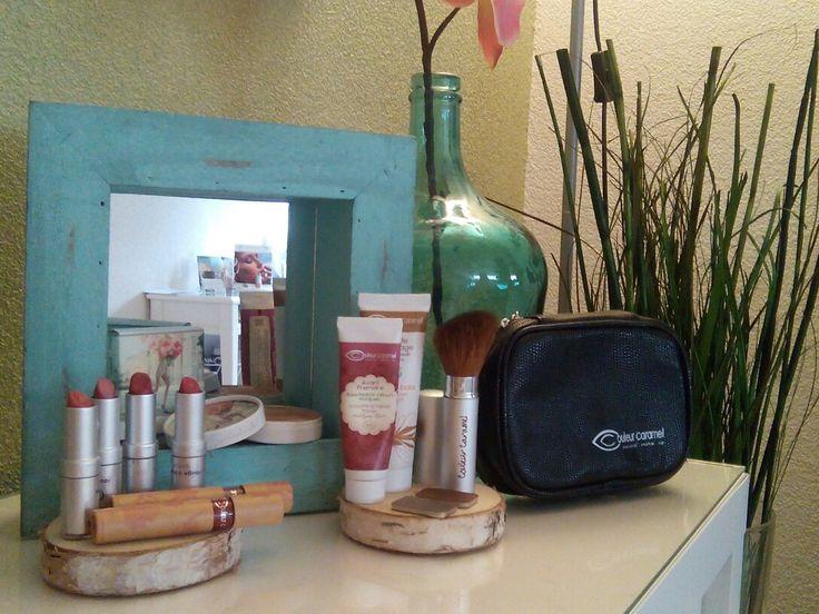 Mooie natuurlijke make-up van Couleur Caramel!