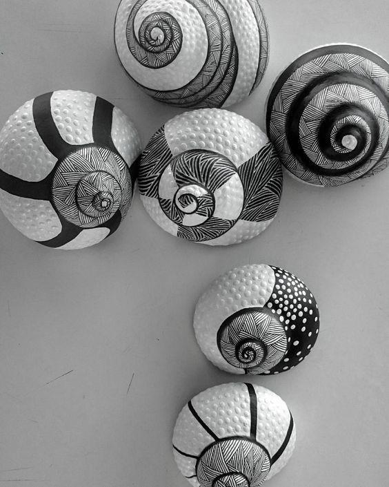 groß DIY dekoriert Shell Inspiration