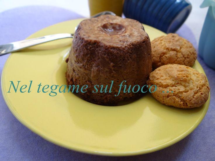Bonet piemontese -budino al cacao- ricetta dolce senza glutine -