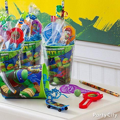 Teenage Mutant Ninja Turtles Ideas: Favors - Click to View Larger