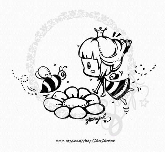 Spring Bumble Bee DIGITAL STAMP Instant Download by StarStampz on Etsy https://www.etsy.com/uk/listing/264557592/spring-bumble-bee-digital-stamp-instant
