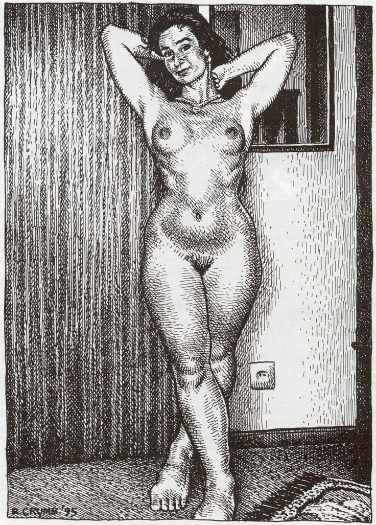 Robert Crumb / Art and Beauty Magazine.
