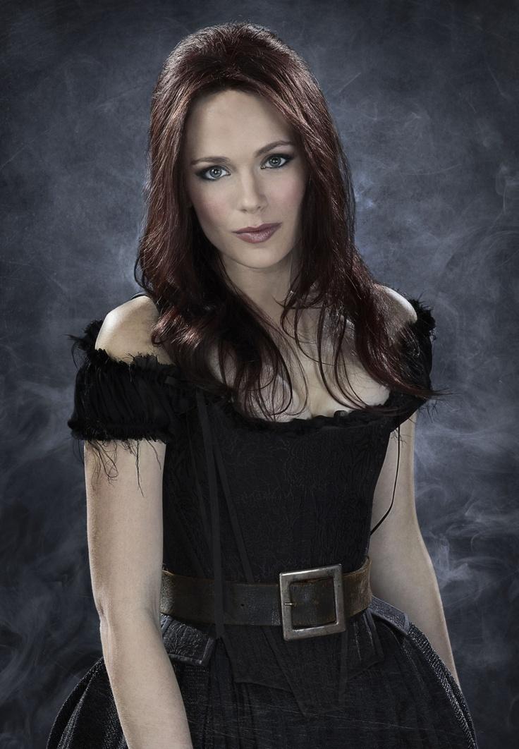 "Katia Winter play's good witch Katrina Crane, and the wife to her husband Ichabod Crane in ""Sleepy Hollow"". FOX (2013)"